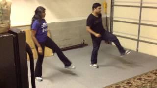 Abbani Teeyani Debba dance practice for TATA UGADI 2014