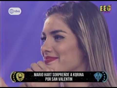 Korina Rivadeneira lloró al escuchar confesión de amor de Mario Hart - Farándula / Radiotarapoto.com