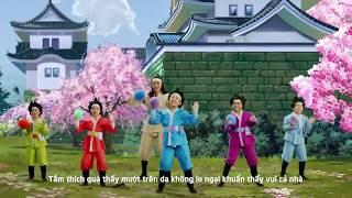[ VN Kids TV ]  Vũ Điệu Diệt Khuẩn - Phiên bản nhí - Bống Bống Bang Bang - Quảng cáo cho bé ăn ngon