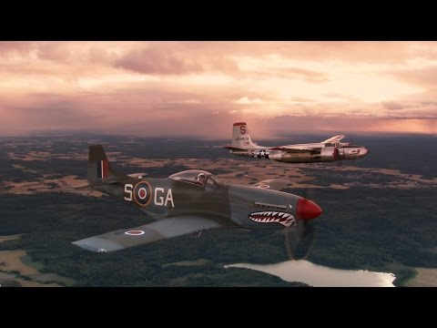 "P-51 ""Shark"" Mustang. Starring Jan Andersson. Long version."