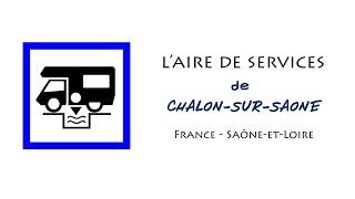 Chalon-sur-Saône : aire de services pour camping-cars en Saône-et-Loire (France)