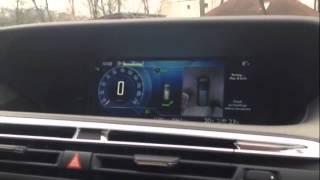 Citroen C4 Picasso parkolás segítő rendszer