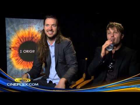 MIchael Pitt and Mike Cahill, I Origins  Cineplex  Uncut