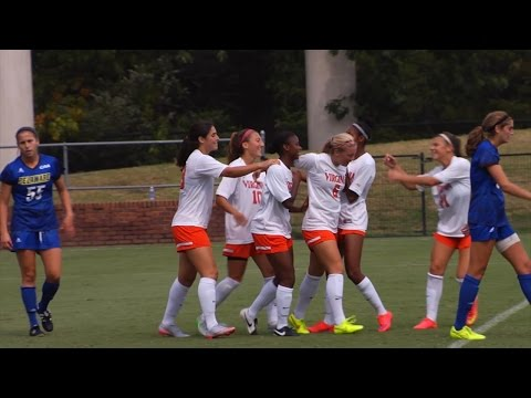 WOMEN'S SOCCER: Delaware Highlights