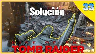 Rise of the Tomb Raider: El puzle de la estatua y la carrera #33
