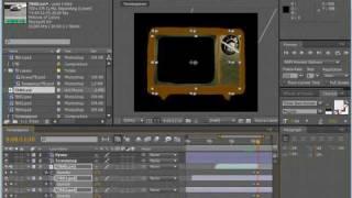 Плавное угасание изображения на экране. AE CS4(6/10)