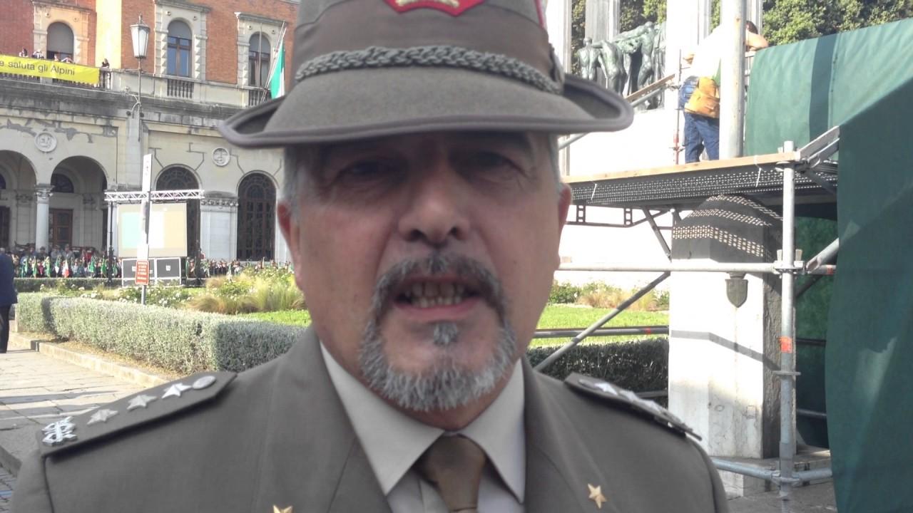 Generale Federico Bonato Andate Delle Truppe Alpine