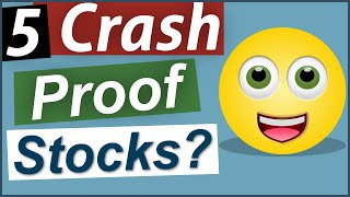 TOP 5 Safety Stocks for the Next Crash?  5 GREAT Stocks in Recent Crashes