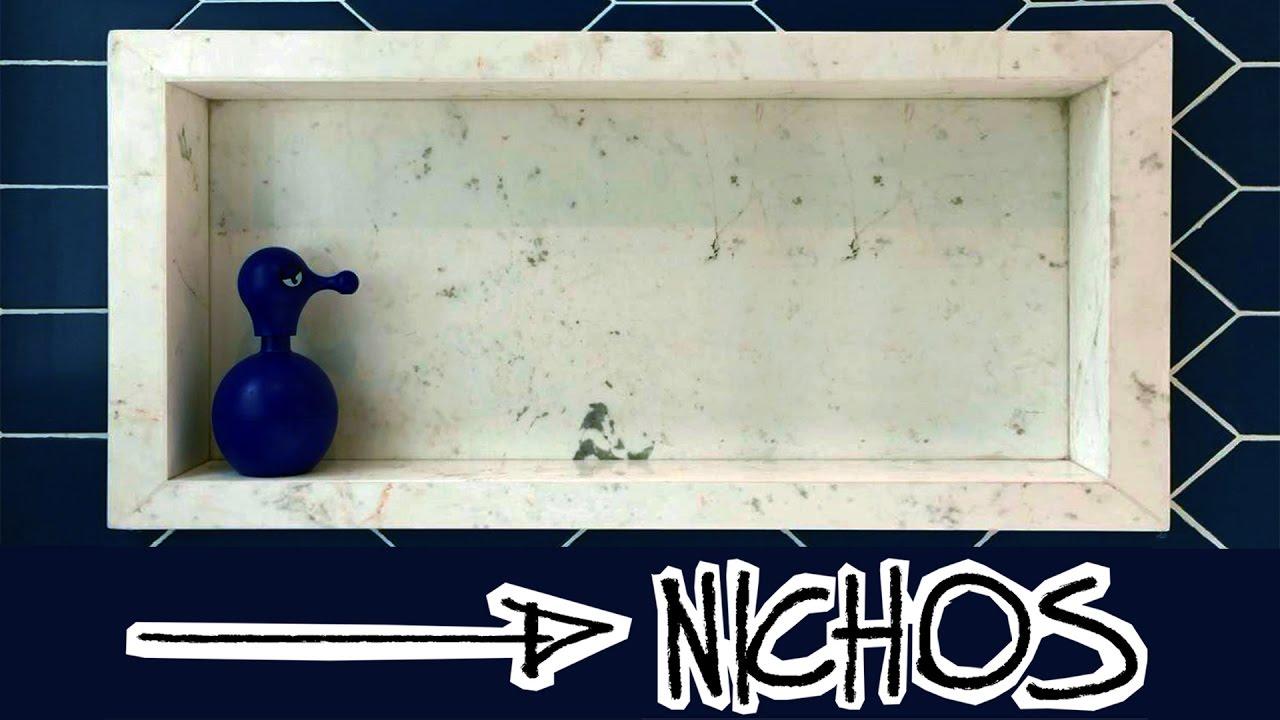 COMO FAZER NICHO PARA BANHEIRO  YouTube -> Nicho Pra Banheiro