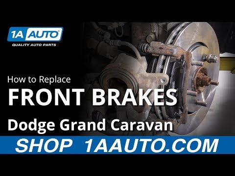How to Replace Front Brakes 08-20 Dodge Grand Caravan