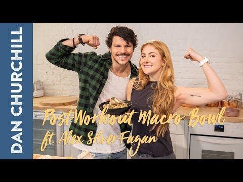 Making a Post-Workout Macro Bowl with Alex Silver-Fagan!