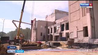 Военный госпиталь в Пензе построят меньше чем за год