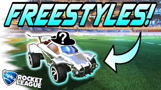 Rocket League FREESTYLE/GOALS: The MOST EXPENSIVE WHITE CAR! - Gameplay, Trading, Dribbles! thumbnail