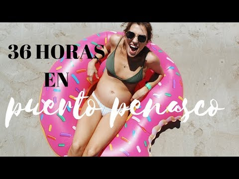 36 Horas en la playa Puerto Peñasco ( Rocky Point )- @karelyvlogs