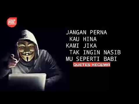 Kata Kata Sadis Buat Hacker Dan Editor Youtube