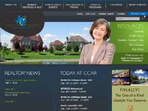 CCAR redesigned Web site Demo