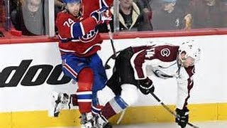 Iginla goes wild after unnecessary hit by Emelin!