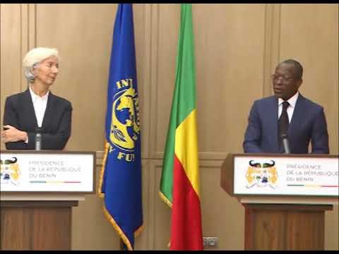 Visite officielle: vidéo récapitulative de la rencontre entre Christine Lagarde et Patrice Talon
