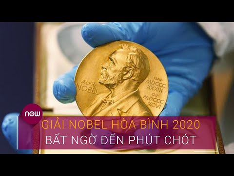Giải Nobel Hòa bình 2020: Bất ngờ đến phút chót   VTC Now