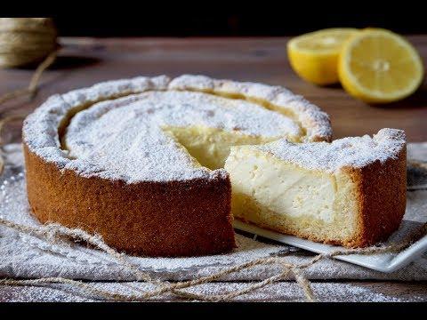 Crostata Morbida Al Limone Ricotta Youtube