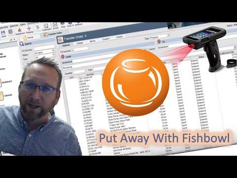 Putaway - Fishbowl Inventory Tutorial W/ Barcode Option