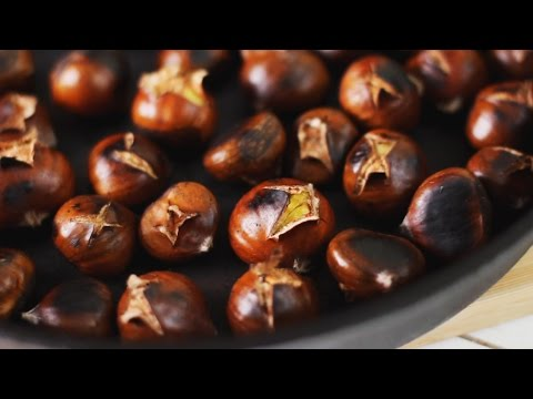 how to roast chestnuts on the stove