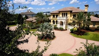 Orlando / Windermere Luxury Mansion On The Butler Chain Of Lakes