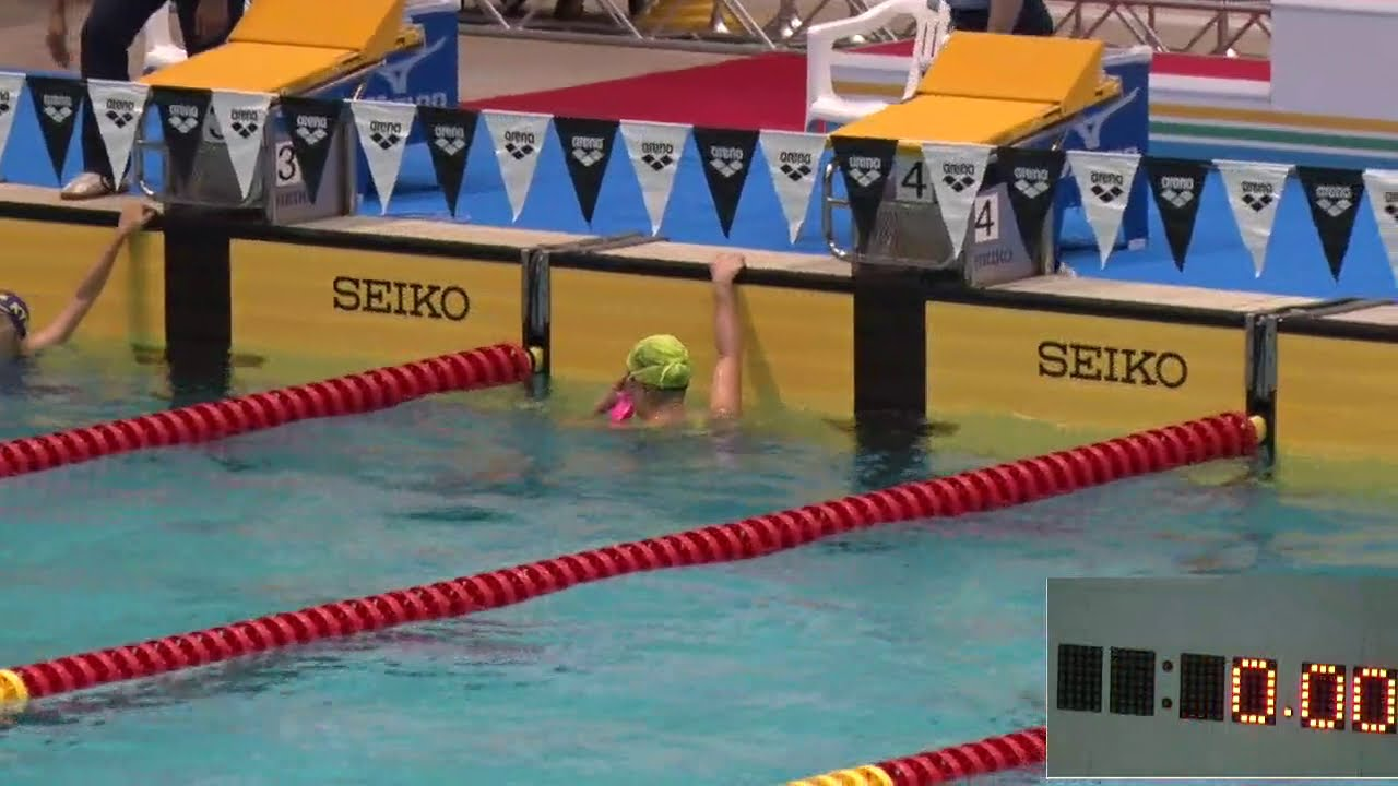 2016年IH 水泳 競泳 女子 200m 個人メドレー B決勝