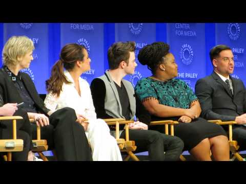 PaleyFest2015 Glee Panel--Chris Colfer's first drink/Mark Salling lying about his age.