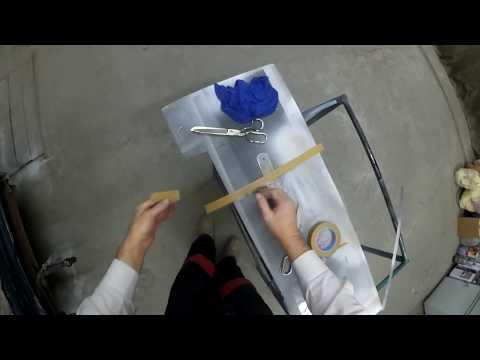 Как эффективно поднять уплотнитель стекла авто для покраски - 1 й способ .