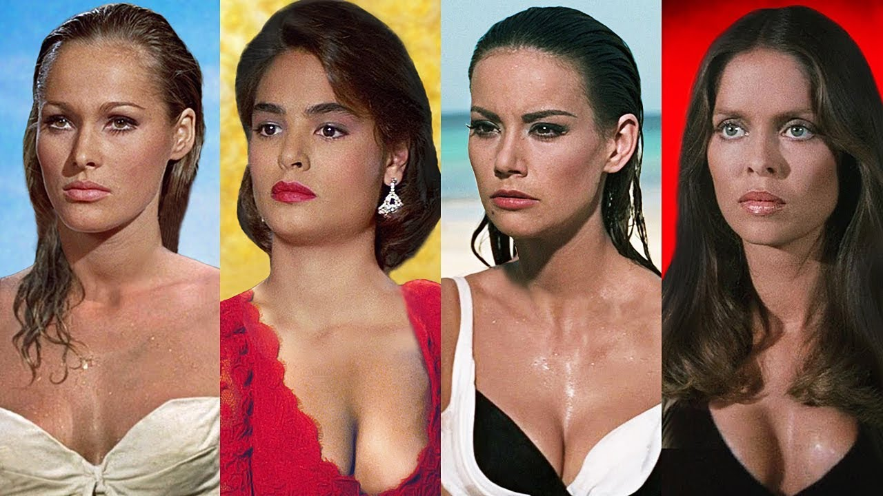 Download JAMES BOND GIRLS ⭐ Then and Now 1962 -  2019 | Name and Age