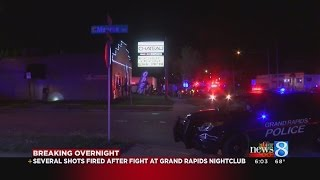 Police in Grand Rapids, Battle Creek investigating shootings, fight