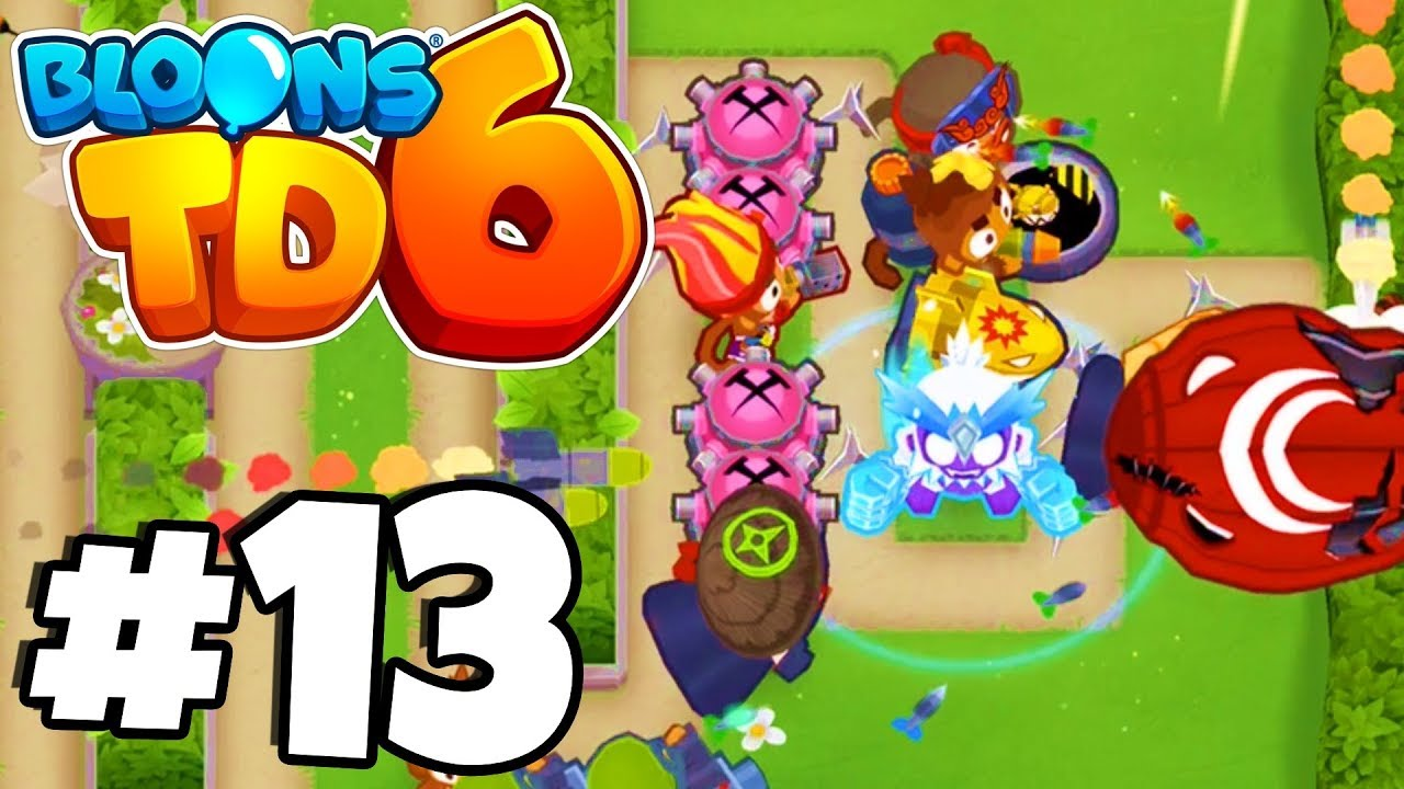 OMG THIS MAP IS EPIC! The NEW Battle Park!? - Bloons Tower Defense 6 Part  13 (BTD 6 IOS/Android)
