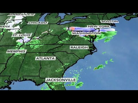 East Coast bracing for 4th nor'easter this month