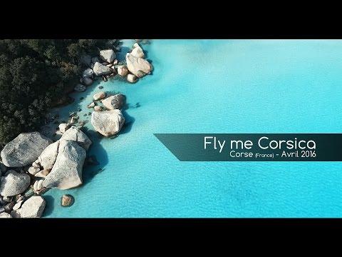 La Corse du sud en Drone = Amazing Corsica Beaches - 2016