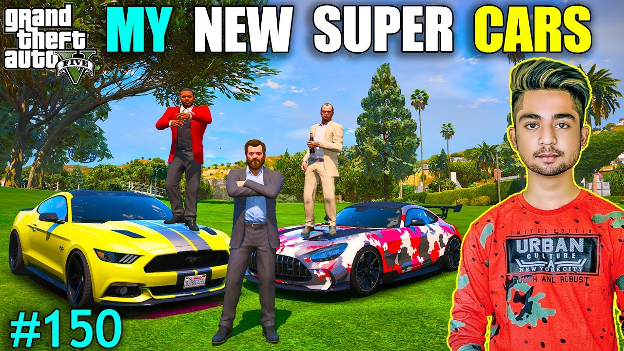 MY NEW SUPER CARS | MICHAEL GIFT CAR TO LESTER | GTA V GAMEPLAY #150