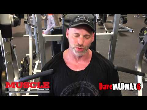 James Preston Rogers update and chest training with Eric Broser