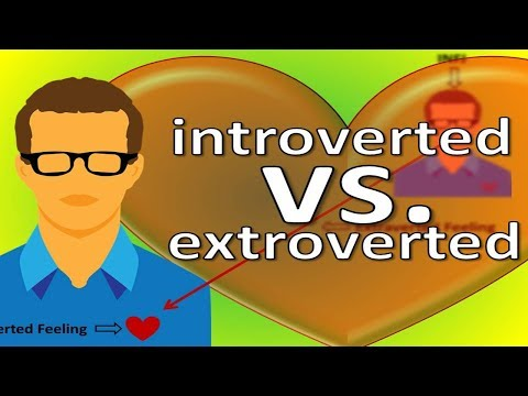 ❤️ Extroverted Feeling vs Introverted Feeling