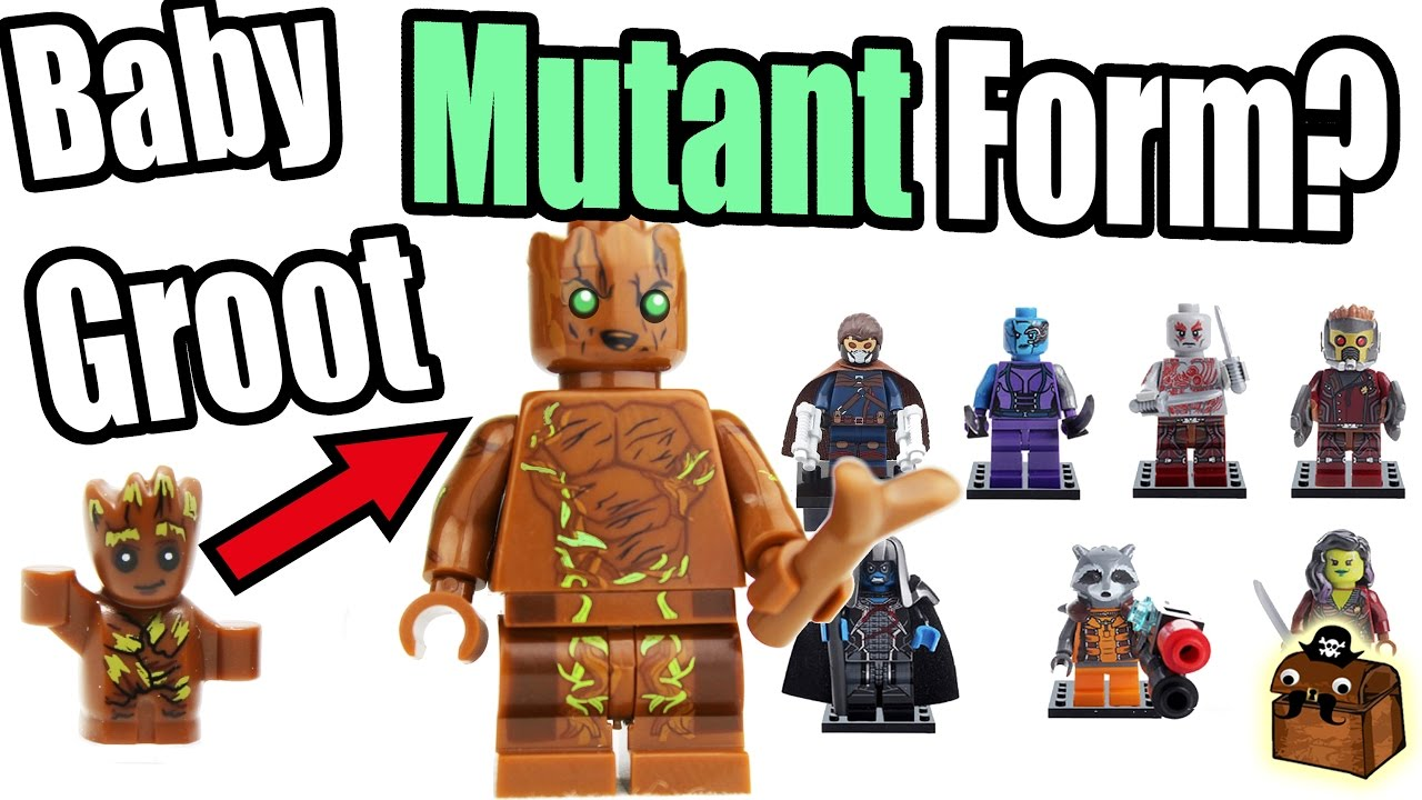 Guardians of the Galaxy Vol 2  Custom LEGO Minifigures 2017