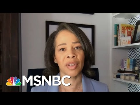 Rep. Rochester (D-DE) Handed Out Masks To Colleagues During Capitol Riot | Ayman Mohyeldin | MSNBC