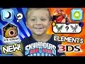 NEW ELEMENTS! Skylanders Trap Team Nightmare Villains! (Nintendo 3DS Gameplay) ? Question Marks ?