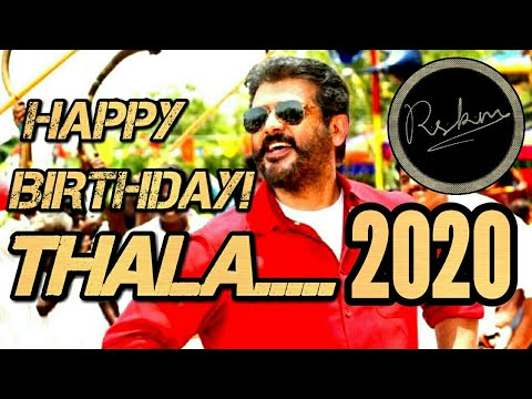THALA AJITH - Happy Birthday TV Ad And WhatsApp Status