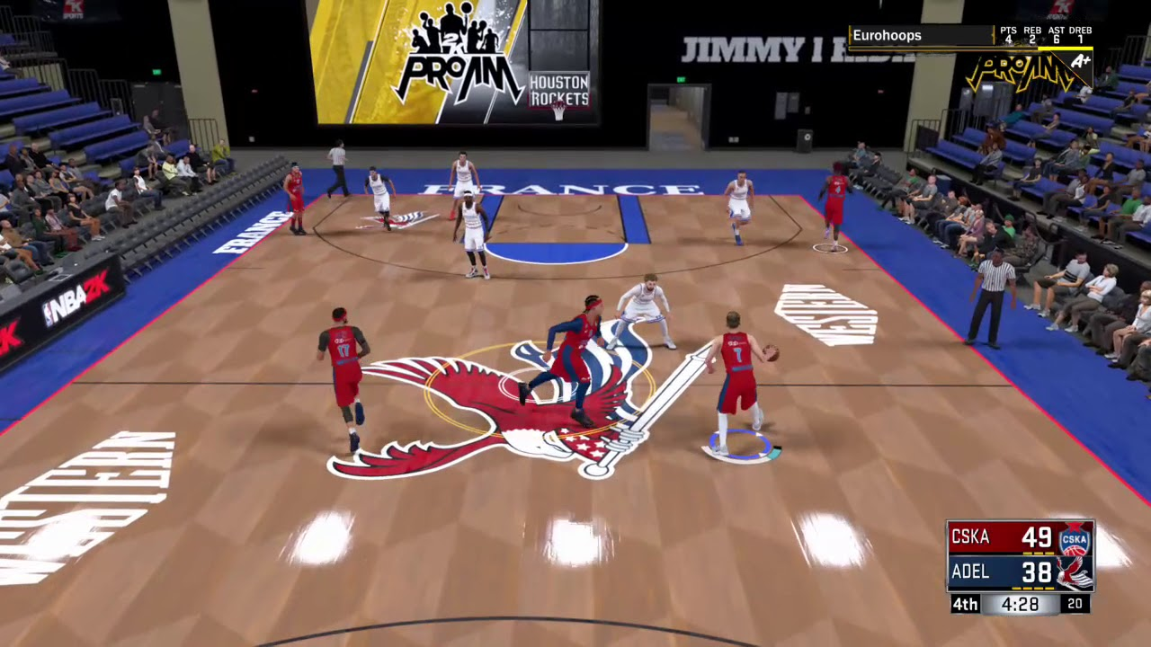 NBA 2K18 Ball movement 0005