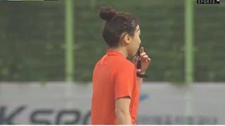 [축구심판VLOG#4] 여자축구 수중전 / 장대비 쏟아…