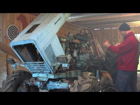 Belarus MTZ-82 restoration project. Part 2 | Breaking a Tractor in Half