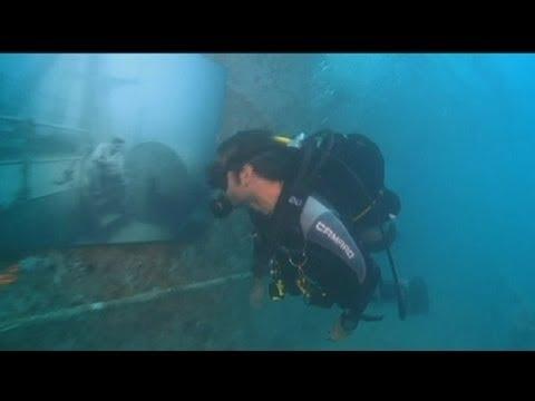 euronews le mag - Le Vandenberg abrite une galerie d'art sous-marine