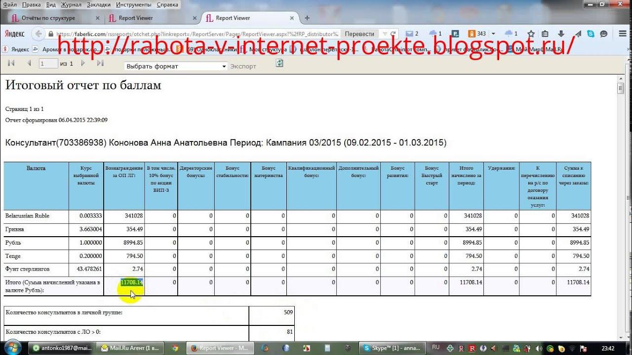 Работа в интернете Фаберлик ,доход в 20 т. рублей ,только факты