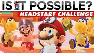 KOOPA FREERUNNING 30-SECOND HEADSTART (With a Twist) | Is It Possible?