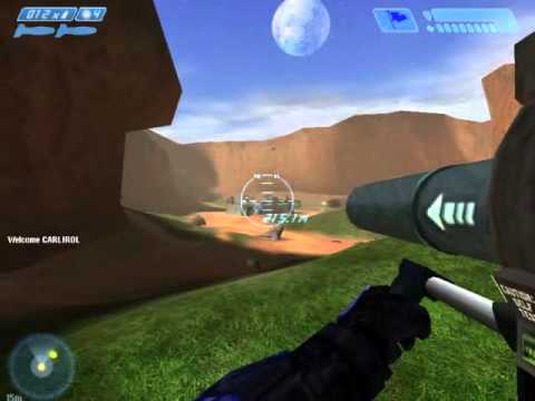 Ethan Plays Halo:Combat Evolved Online Multiplayer-CTF-(Capture The Flag)-PC