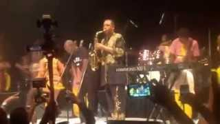 femi and seun kuti on stage at the 2kings concert